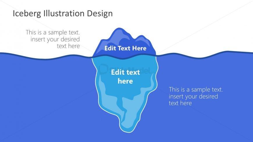 Glacier Iceberg PowerPoint Diagram