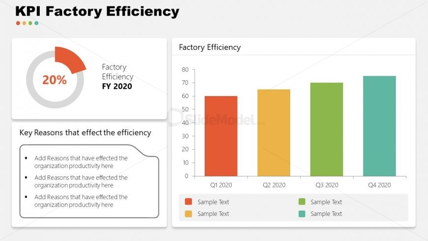 PPT Factory Efficiency Garment Industry Template