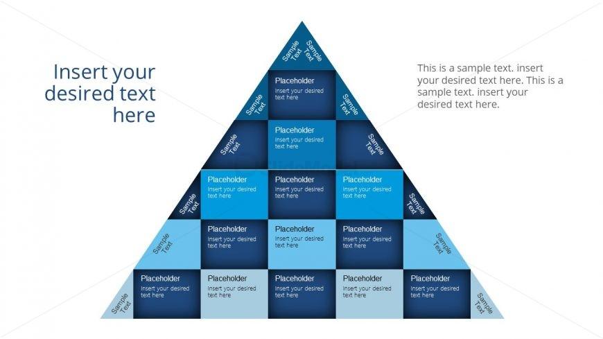 Pyramid Chart Vertical and Horizontal Segments