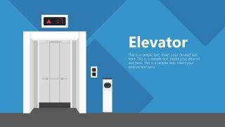 Open Elevator Door Template