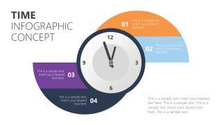 Time Management PowerPoint Diagram