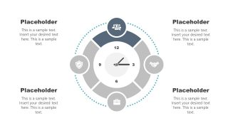 Clock Diagram Template Stage 1