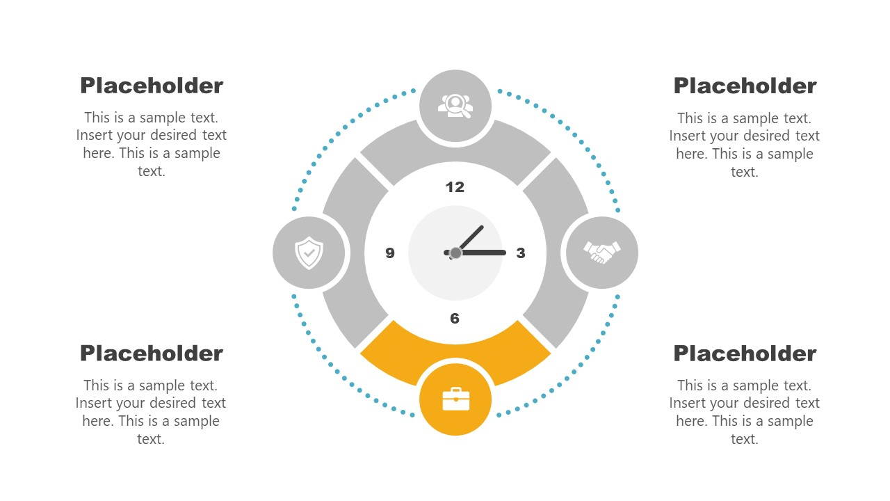Clock Diagram Template Stage 3