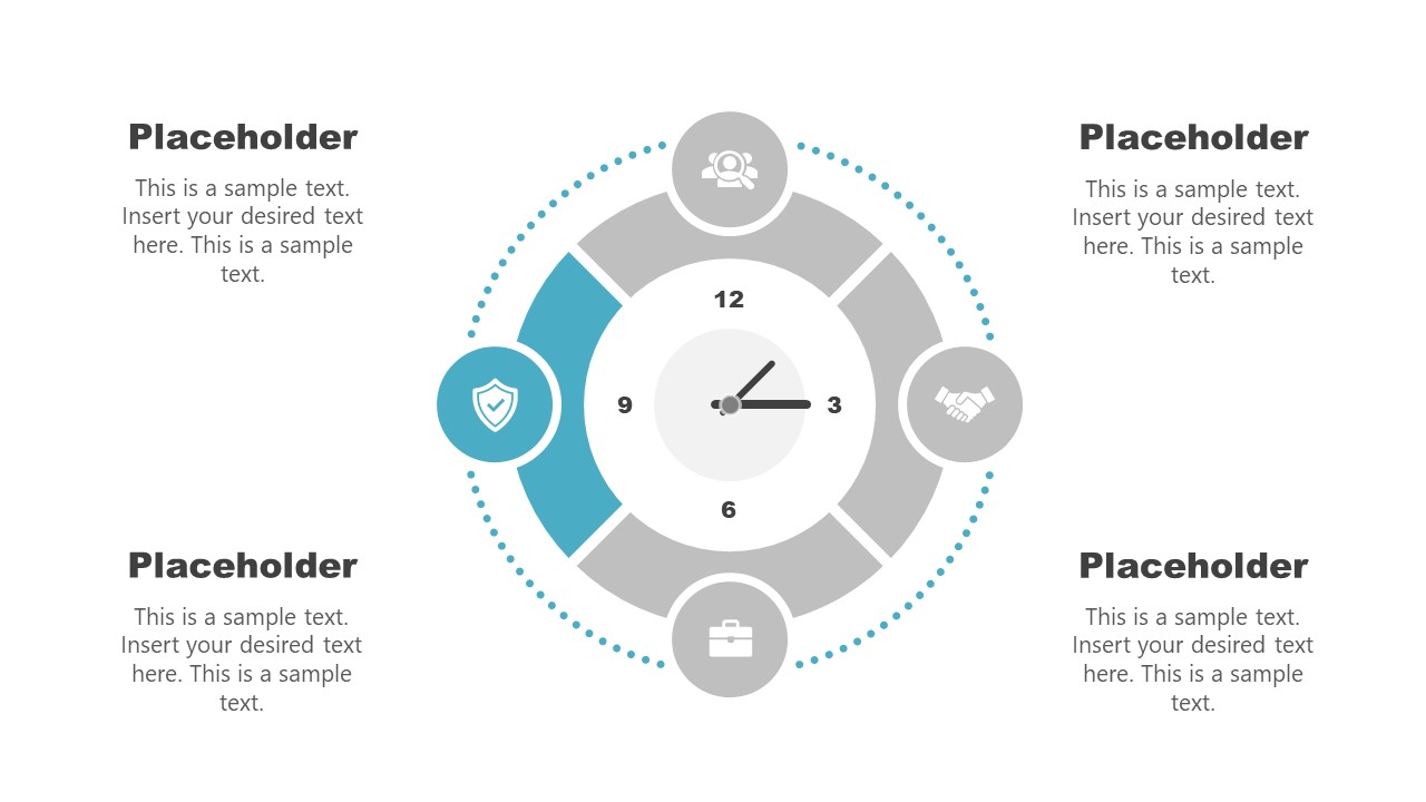 Clock Diagram Template Stage 4