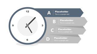 4 Steps PowerPoint Analog Diagram