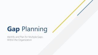 Presentation of GAP Planning PPT