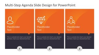 Vertical Presentation Agenda in 3 Steps