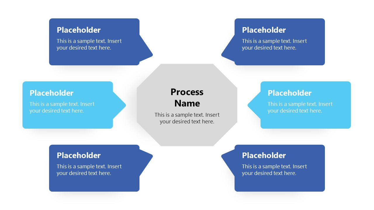 Speech Bubble Text Placeholders for Turtle Diagram