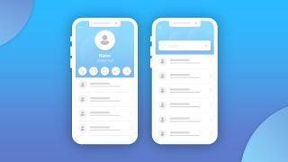 Customer Card Digital UI PPT