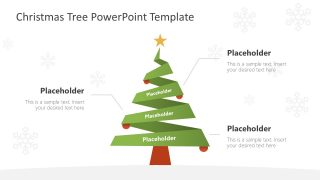 Pine Tree for Christmas Presentation