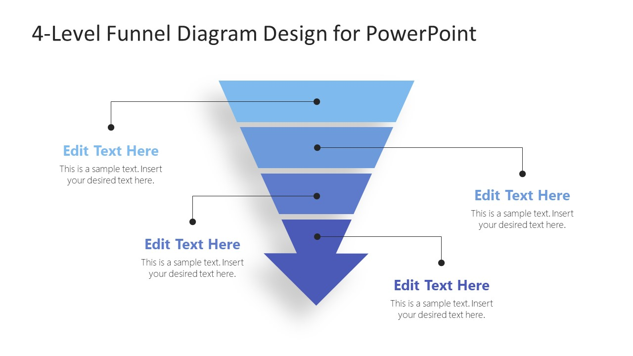 Presentation od 4Steps Funnel Arrow