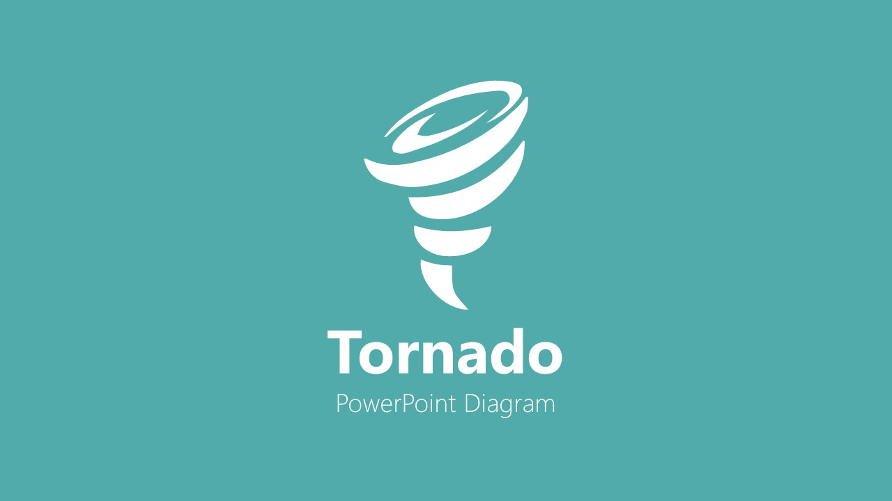 Clipart Icon of Tornado PPT