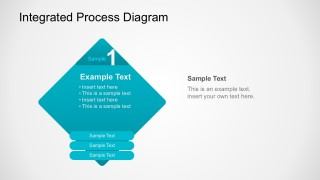 Step 1 Integrated Process Diagram PowerPoint