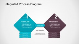 Business Comparison Integrated Diagram PowerPoint