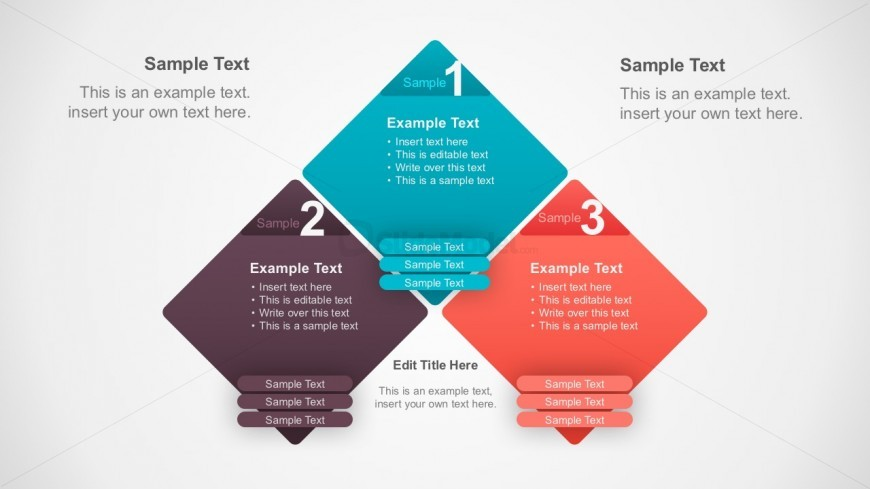 Segmented Process Diagrams PowerPoint Template