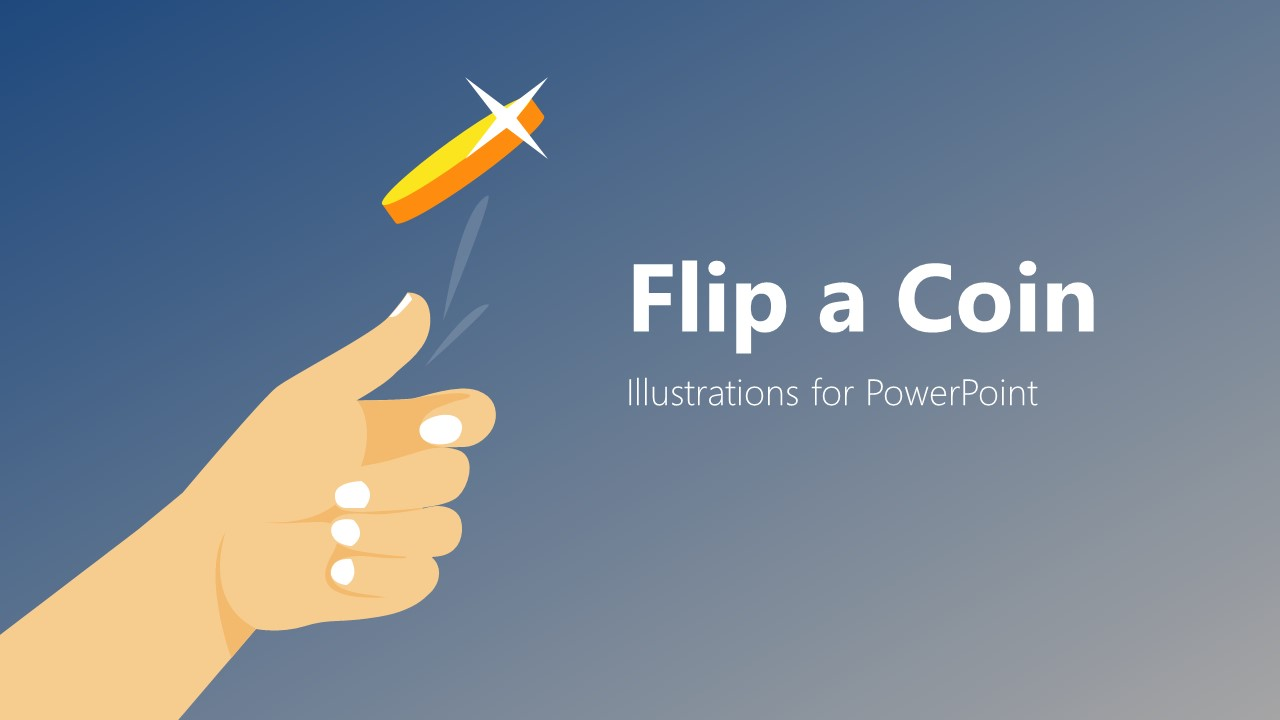 Presentation of Flip a Coin Template