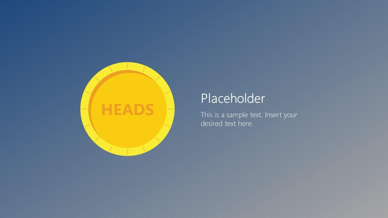 PowerPoint Coin Toss Heads
