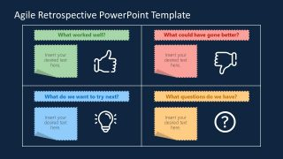 PowerPoint Templates of Agile Retrospective Diagram
