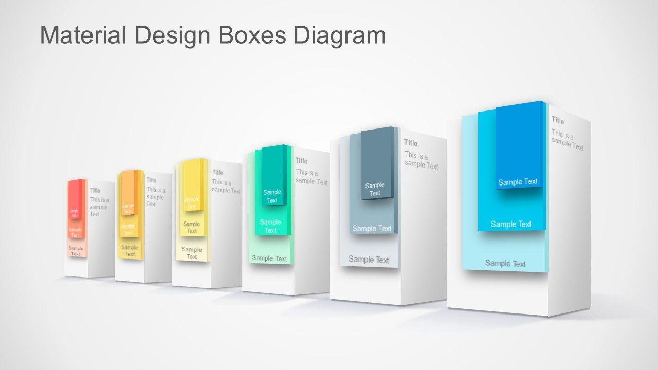 3D PPT Templates Material Design
