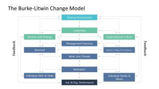 Process Flow Burke-Litwin Model Template