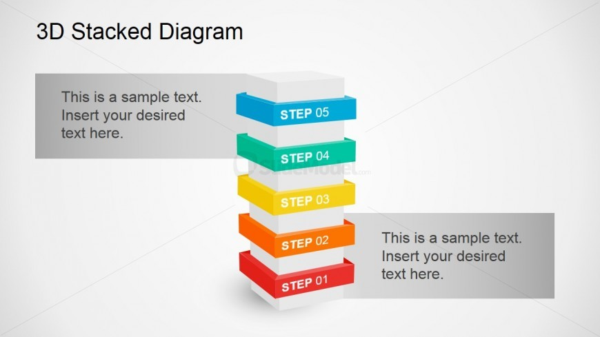 Useful 3D Diagram For Business Presentations