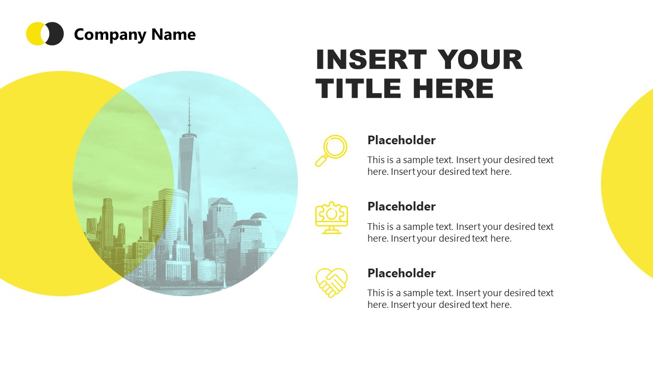 PowerPoint Templates of Corporate Theme
