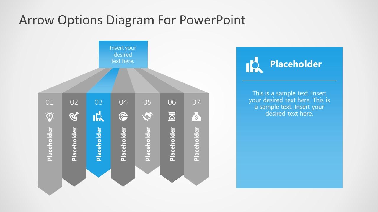 7 Steps Diagram Highlighting 3 Step