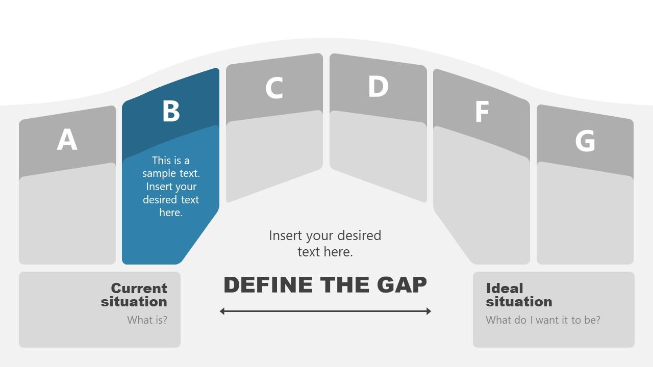 Bridging The Gap Metaphor Template