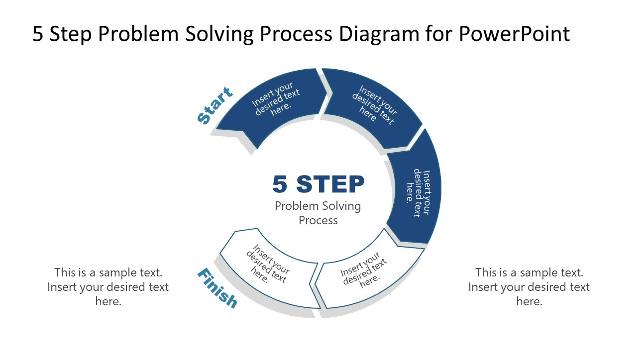 PowerPoint Diagram of Problem Solving Process Step 3
