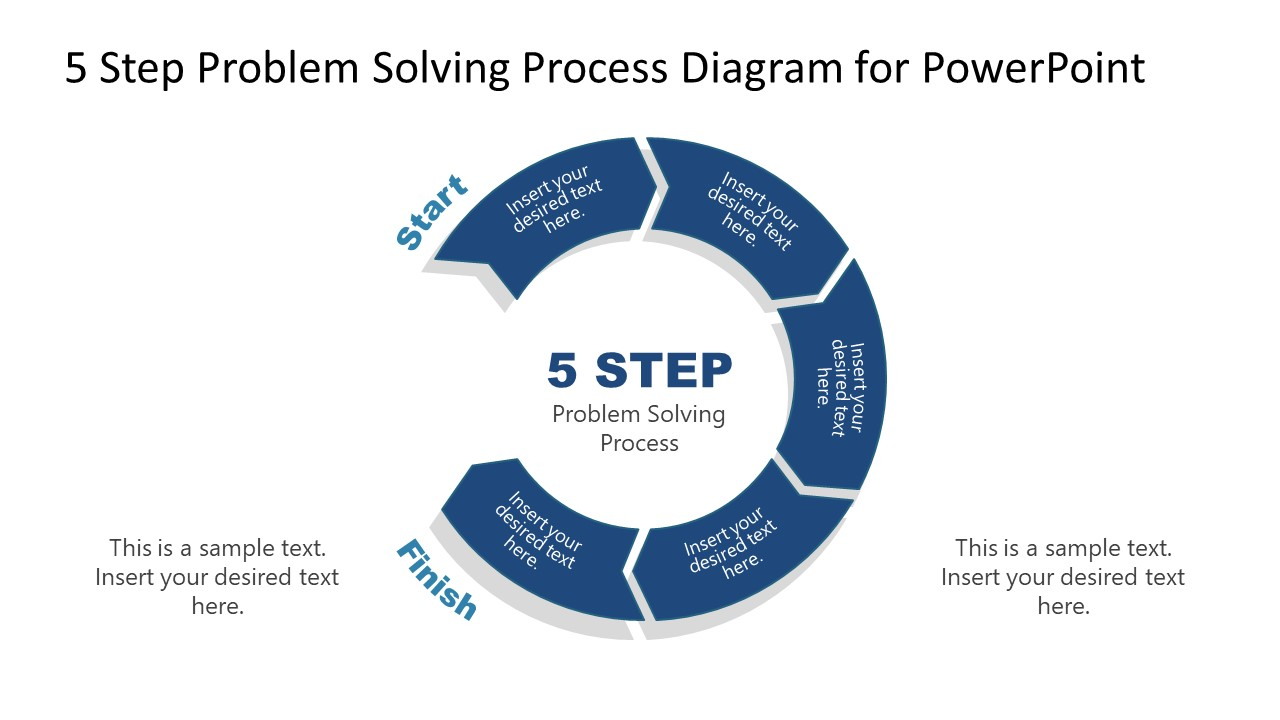 PowerPoint Diagram of Problem Solving Process Step 5