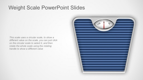 Body Weight Device Graphics for PowerPoint