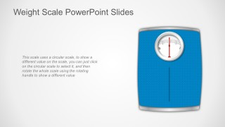 Weighing Scales PowerPoint Template Vectors