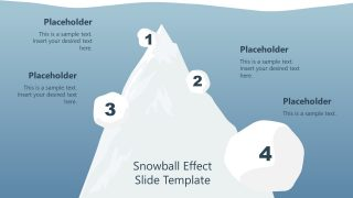 Compounding Snowball Effect Illustration PPT