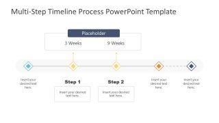 6 Week Timeline Template Design