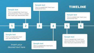 Presentation of 6 Steps Square Milestones