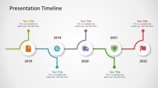 Presentation Timeline Concept for PowerPoint