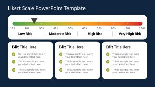 PowerPoint Risk Level Survey Template