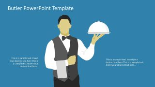 PPT Butler Serving PowerPoint Graphics