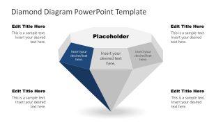 PowerPoint Diamond Diagram Template