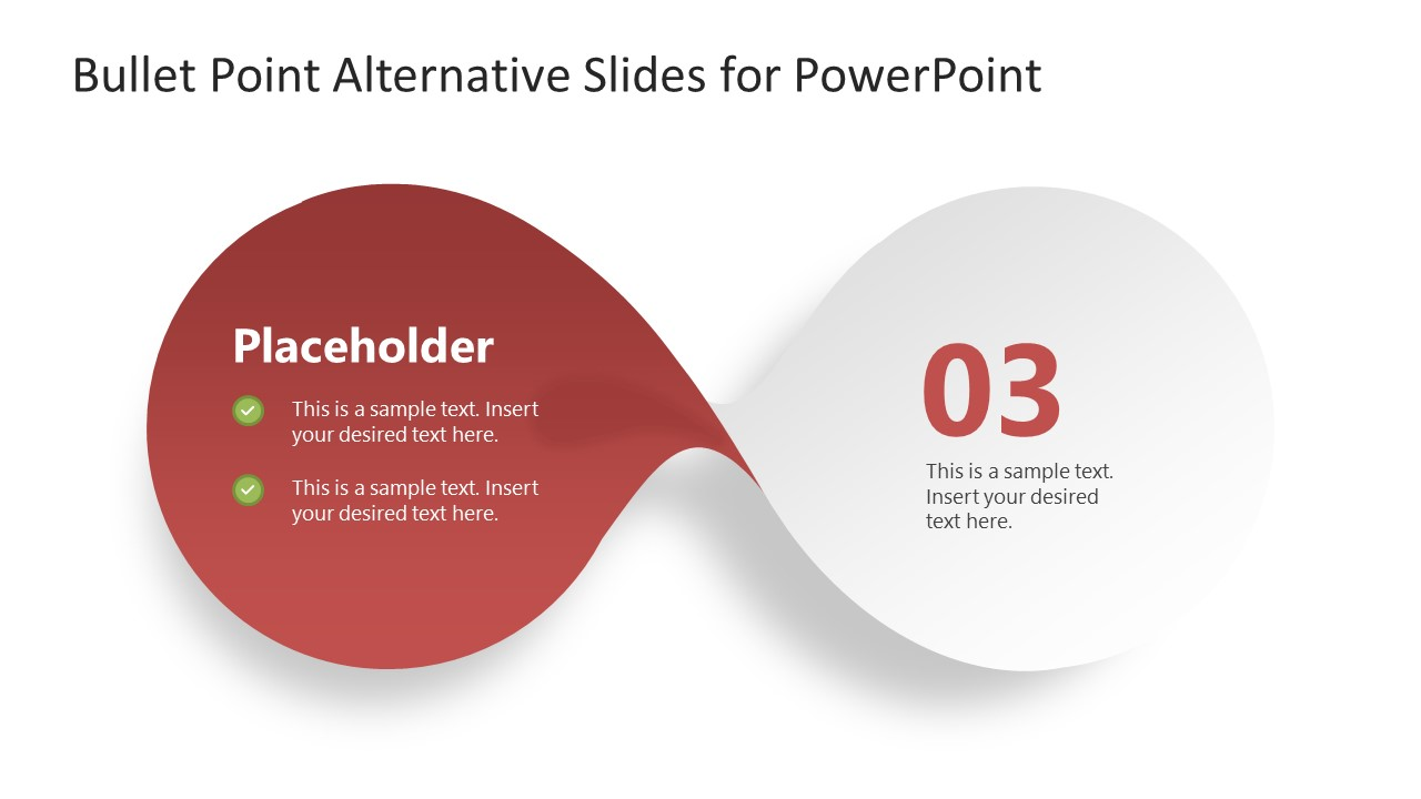 PowerPoint Bow-Shaped Diagram Step 3