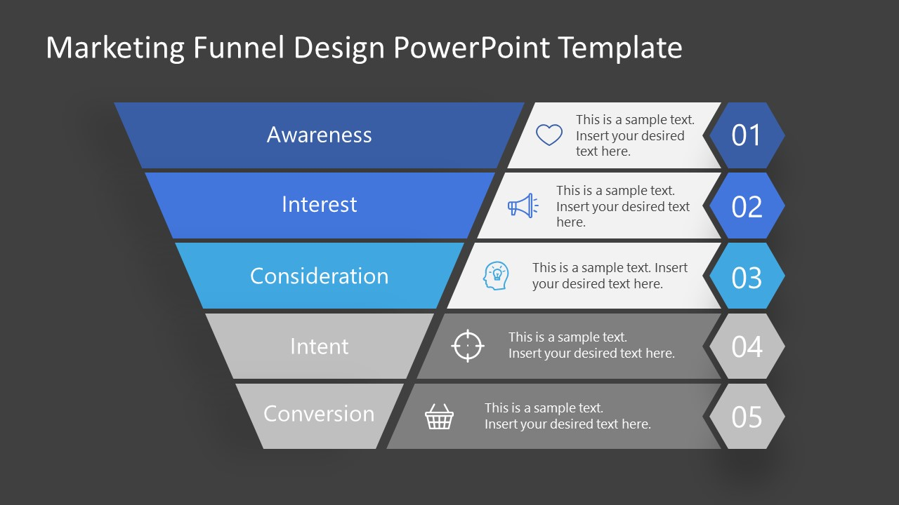 Consideration Stage Marketing Funnel Template