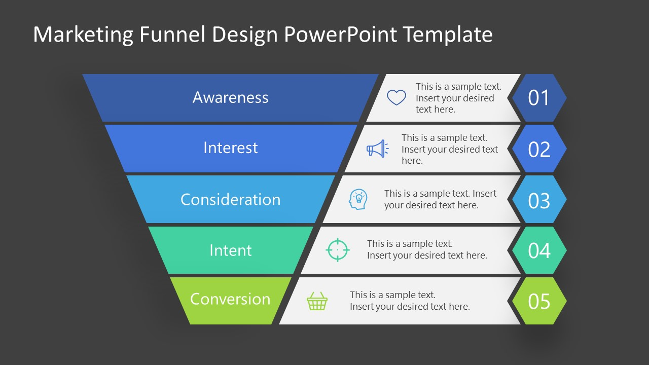 PowerPoint Templates for Marketing Funnel