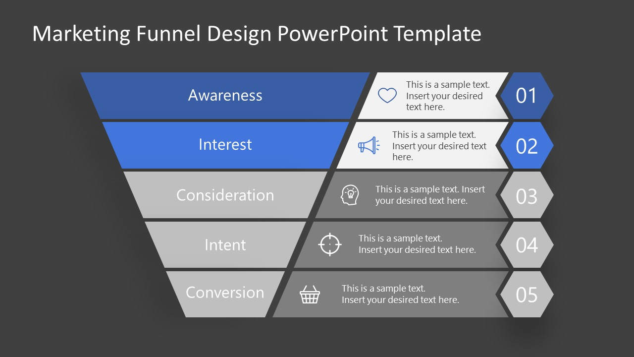 Interest Stage Marketing Funnel Template