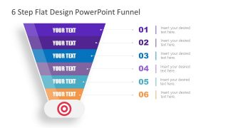 Presentation of Funnel Concepts 6 Steps Template