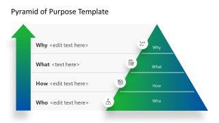 4 Steps Pyramid of Purpose PPT
