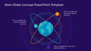 Global Networking Concept PowerPoint
