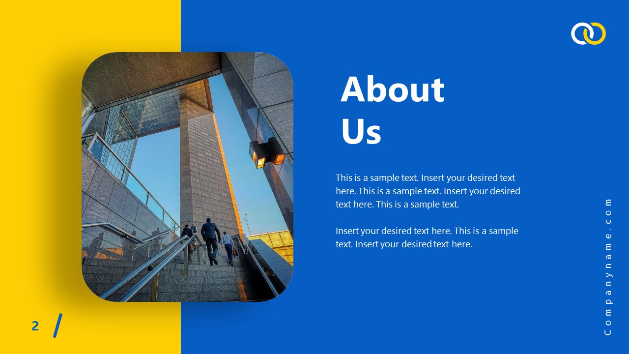 PowerPoint Theme About Us Impactful Template
