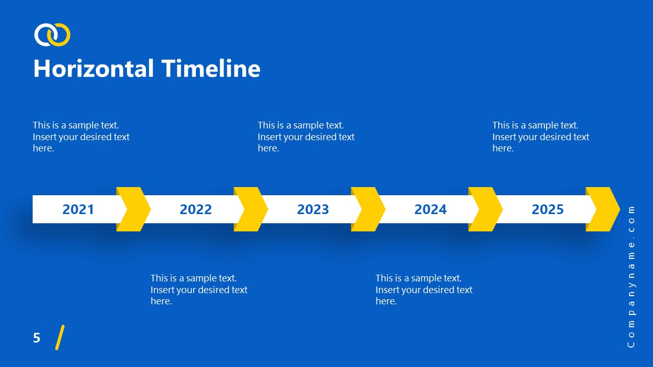 PowerPoint Theme Timeline Impactful Template