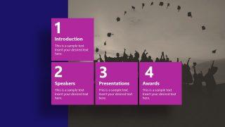 Presentation of Virtual Graduation Agenda