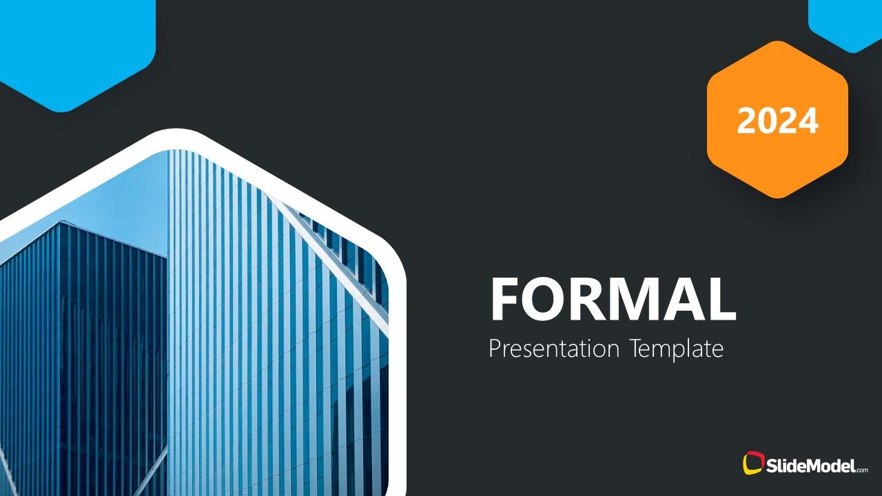 Pitch Deck for Business Presentation Cover Slide